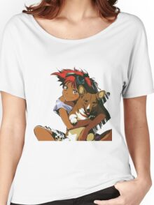Edward and Ein Cowboy Bebop Women's Relaxed Fit T-Shirt