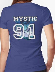 "Personal Mystic ""Jersey"" Womens Fitted T-Shirt"