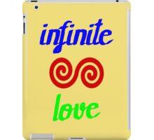 Infinite love is yours iPad Case/Skin