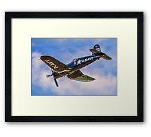 Chance Vought F4U-4 Corsair 96995 OE-EAS Framed Print
