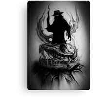 Gunslinger Canvas Print