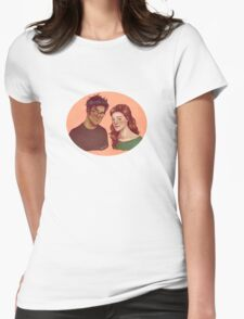 James and Lily Womens Fitted T-Shirt