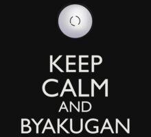Keep Calm and Byakugan b One Piece - Long Sleeve