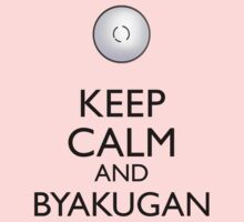 Keep Calm and Byakugan a One Piece - Short Sleeve