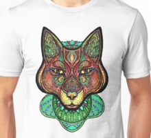 Psychedelic fox Unisex T-Shirt