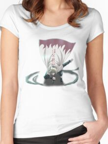 Minato Arrives on the Battlefield Women's Fitted Scoop T-Shirt