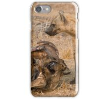 Young Spotted Hyena iPhone Case/Skin