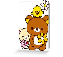 Rilakkuma and Friends Greeting Card