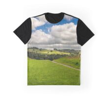Kendle castle-Panorama  Graphic T-Shirt