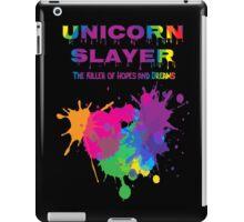 Unicorn Slayer T Shirt iPad Case/Skin