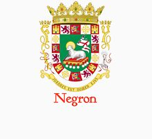 Negron Shield of Puerto Rico Unisex T-Shirt