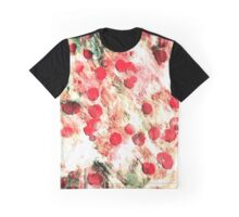 Pink Red Dirty Polka Dot Grunge Graphic T-Shirt