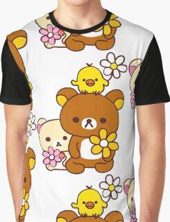 Rilakkuma and Friends Graphic T-Shirt