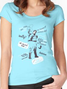 patty tolan quotes Women's Fitted Scoop T-Shirt