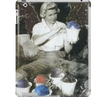 The garden of the planets iPad Case/Skin
