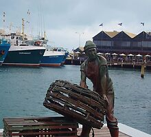 Fremantle Fisherman by lezvee