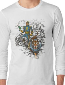 Calvin: The Spiffy Spaceman Long Sleeve T-Shirt