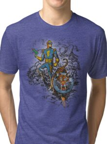 Calvin: The Spiffy Spaceman Tri-blend T-Shirt