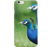 Peacocks in the Park iPhone Case/Skin