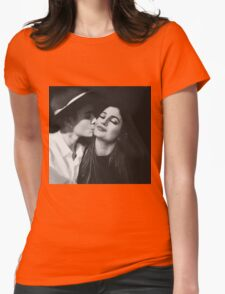 Kylie Jenner and Justin Bieber Womens Fitted T-Shirt