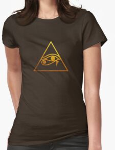 Eye of Horus  Womens Fitted T-Shirt