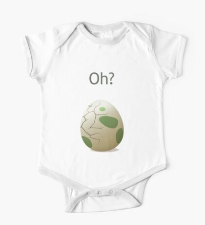 Oh? A hatching egg! One Piece - Short Sleeve