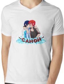 Iwatobi Swim Club RinHaru ~Canon~ Mens V-Neck T-Shirt