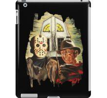 Freddy vs Jason Horror American Gothic iPad Case/Skin