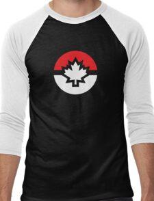 Canada Pokemon Logo Pokeball Men's Baseball ¾ T-Shirt