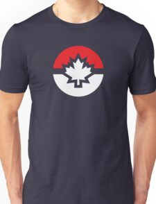 Canada Pokemon Logo Pokeball Unisex T-Shirt