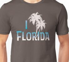 I Love Florida - Palm Tree Unisex T-Shirt