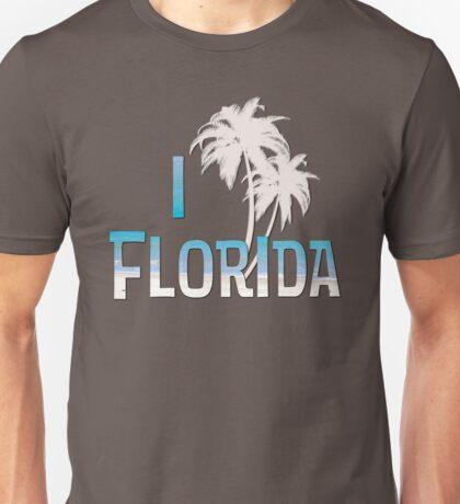 I Love Florida - Palm Tree Unisex T-Shirt