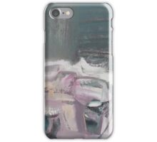 Still meditation over a cup of sake iPhone Case/Skin