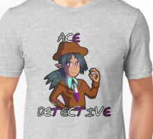 "Silva Gunmetal, ""Ace"" Detective Unisex T-Shirt"