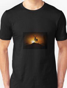 Deer on a Mountain Unisex T-Shirt