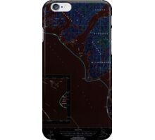 USGS TOPO Map Alaska AK Port Alexander C-4 358488 1994 63360 Inverted iPhone Case/Skin