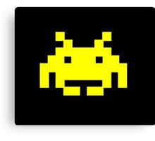 Retro Video Game - Space Invaders Canvas Print