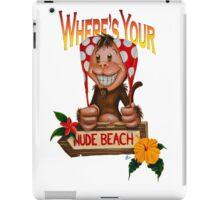 Spanx The Monkey iPad Case/Skin