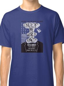 Mr. Robot End of the World Party Tee Classic T-Shirt