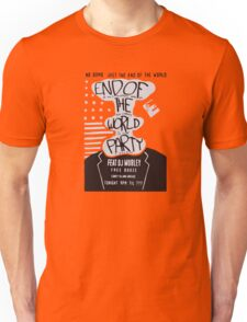 Mr. Robot End of the World Party Tee Unisex T-Shirt