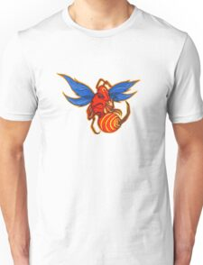 Scary Hornet Ready to Strike! Unisex T-Shirt