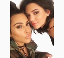 Kendall Jenner and Kim Kardashian  Unisex T-Shirt