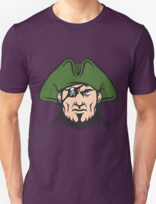 Pirate Mascot Face  Unisex T-Shirt