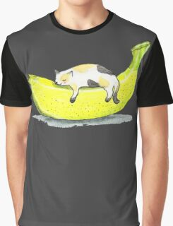 Banana cat Graphic T-Shirt
