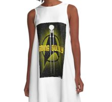 Going Boldly A-Line Dress
