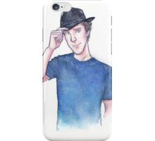Benedict Cumberbatch watercolor iPhone Case/Skin