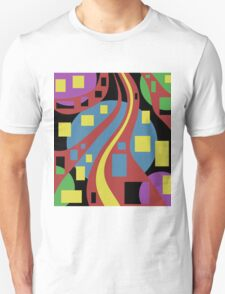 Colorful abstraction Unisex T-Shirt
