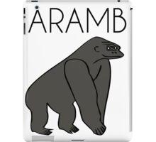 Harambe the Brave Gorilla iPad Case/Skin