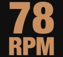78 RPM  Orange  by guitarplayer