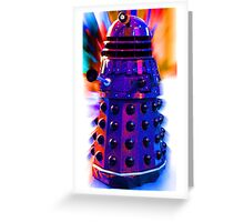 The Dalek Greeting Card